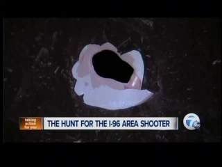 The hunt continues for the I-96 area shooter