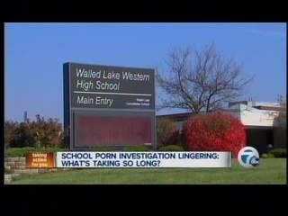 Walled Lake schools investigate reports of porn in classroom. Video; Photo