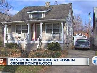 Man found murdered at home in Grosse Pointe Woods