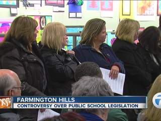 Controversy over public schools legislation