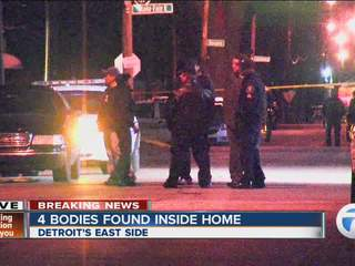 4 bodies discovered in Detroit home