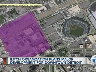 Illitch organization plans development for downtown Detroit