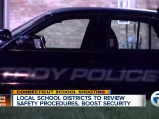 Schools to review security procedures