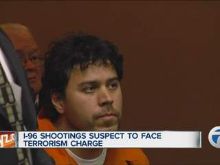 I-96 shootings suspect to face terrorism charges