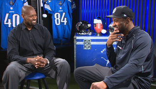 Herman Moore and Calvin Johnson