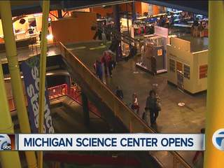 Michigan Science Center opens