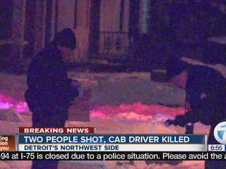 Double shooting leaves cab driver dead
