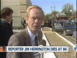 Former WXYZ reporter Jim Herrington dies at 84
