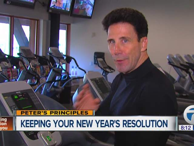 Peter's Principles keeping your New Year's resolutions