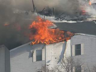 Condo fire in Ypsilanti