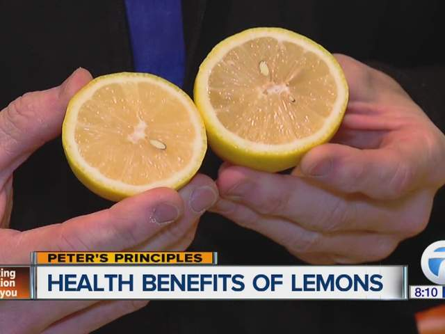 Peter Nielson looks at the health benefits of lemons