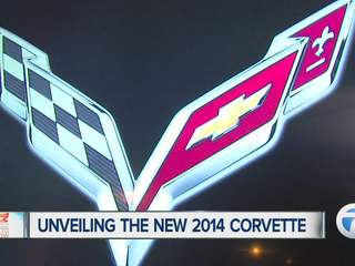 Unveiling the new 2014 Corvette