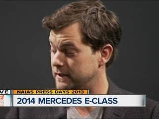 Diane Kruger and Joshua Jackson introduce new Mercedes E-Class