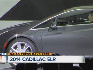 Cadillac reveals 2014 ELR: It's electric