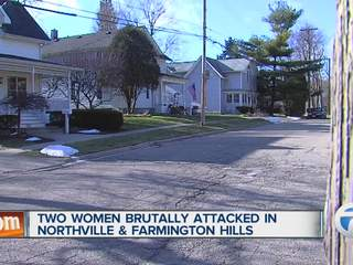 Two women brutally attacked in Northville and Farmington Hills