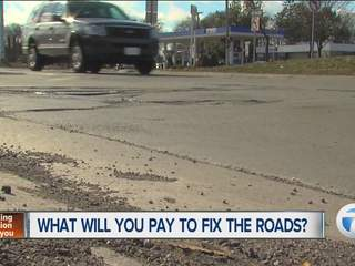 What will you pay to fix the roads?