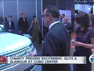 It Was All Glitz And Glam At The Charity Preview Event At