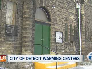 City of Detroit opens warming centers