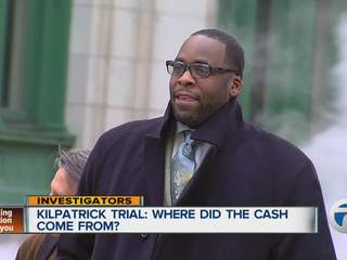 Kilpatrick trial: Where did the cash come from?