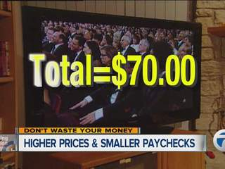 Higher prices and smaller paychecks