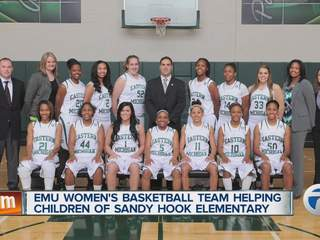 EMU women's basketball team to help children of Sandy Hook