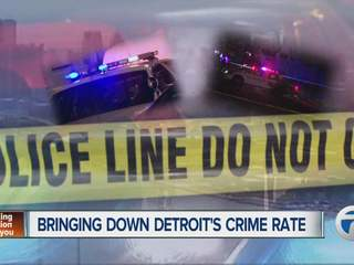 Bringing down Detroit's crime rate