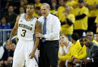 Trey Burke with coach