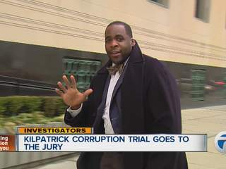 Kilpatrick corruption trial goes to the jury