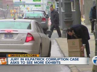 Jury asks to see more exhibits in Kilpatrick corruption trial