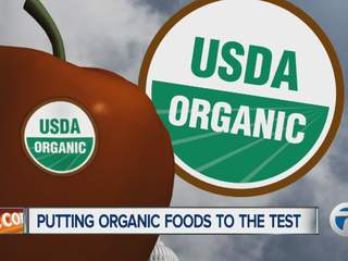 Putting organic foods to the test