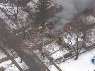 House explosion in Royal Oak