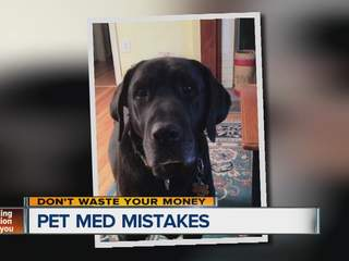 Pet Med Mistakes