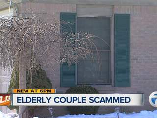 Elderly couple scammed