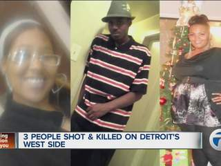 Triple homicide in Detroit