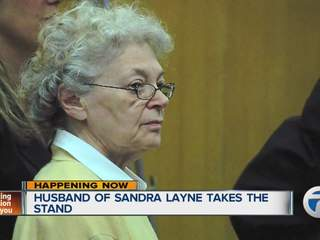 Husband testifies in Layne trial