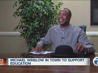 Michael Winslow visits 7 Action News