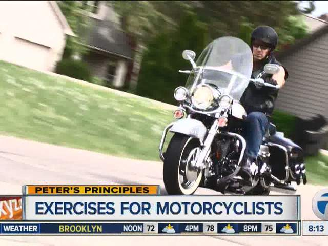 Peter's Principles - Exercise for motorcyclists