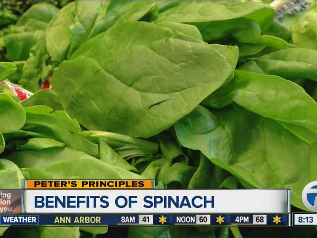Peter's Principles - Benefits of Spinach