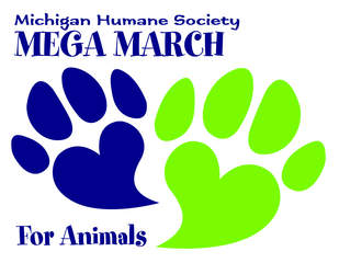 Annual Mega March for Animals event today