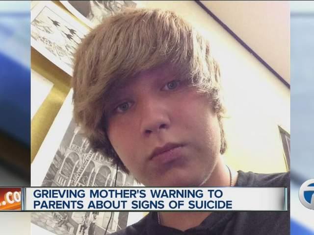 Teen suicide no parent can