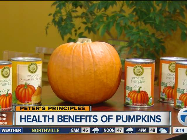 Peter's Principles - Health Benefits of Pumpkins