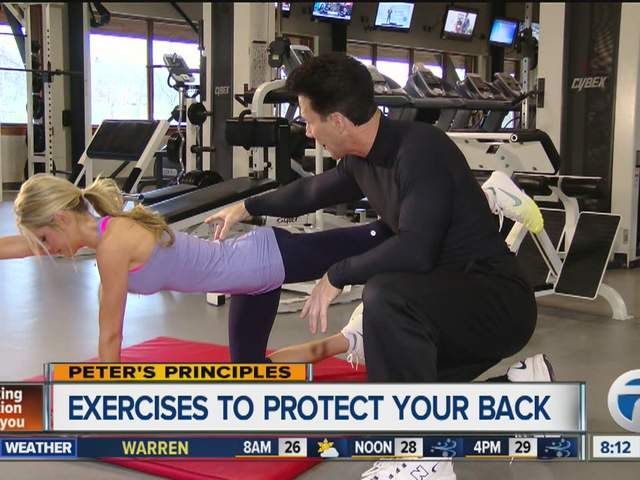 Peter's Principles - Exercises to protect your back