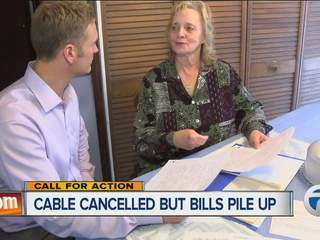 Cable canceled but bills pile up