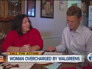 Woman overcharged by Walgreens