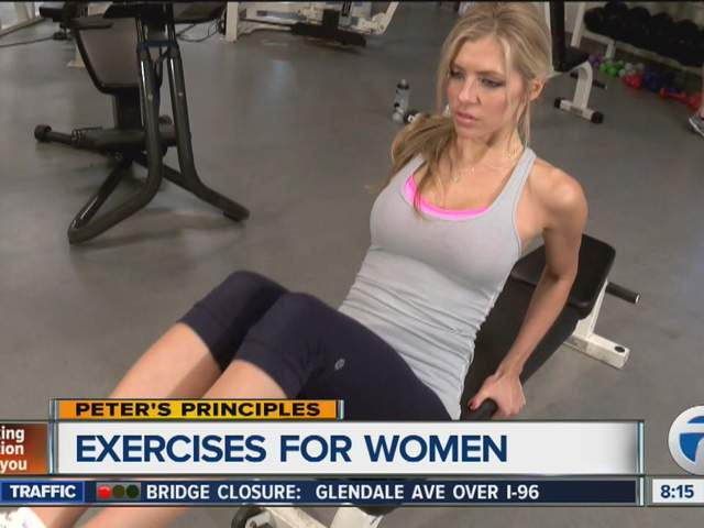 Peter's Principles - Exercises for women