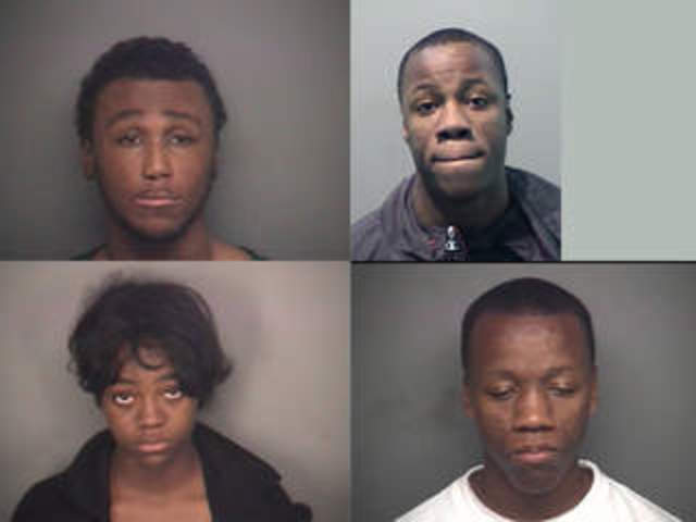 Four charged in triple homicide in Detroit