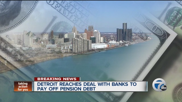 City of Detroit reaches debt swaps settlement with banks