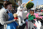 Easter Bunny will be in malls starting today