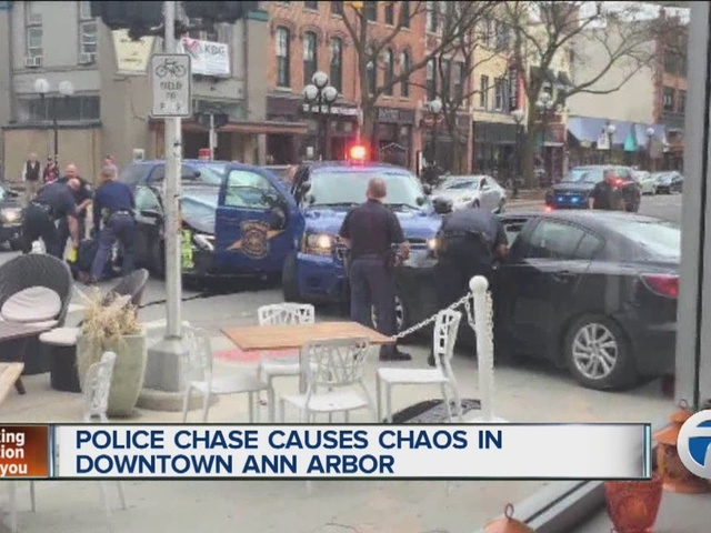 Police chase drug, homicide suspects into busy downtown Ann Arbor ...