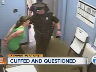 Local woman with special needs handcuffed and interrogated inside ...